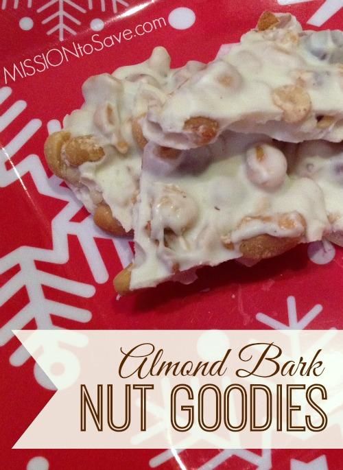 Almond Bark Nut Goodies recipe