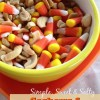 Simple Sweet & Salty Snack: Cashews and Candy Corn!