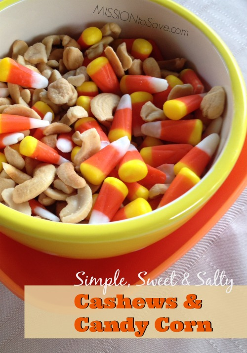Cashews and Candy Corn
