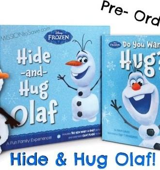 Pre-Order Hide and Hug Olaf at Walmart!