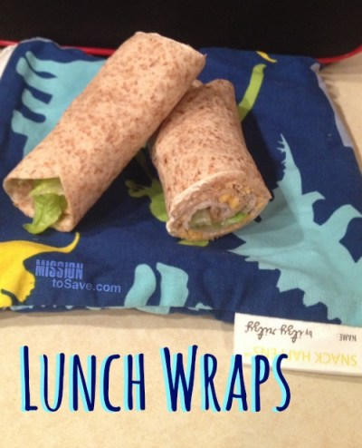 These Lunch Wraps are easy, healthy and kiddo approved!