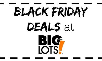 Big Lots Black Friday Ad Deals!