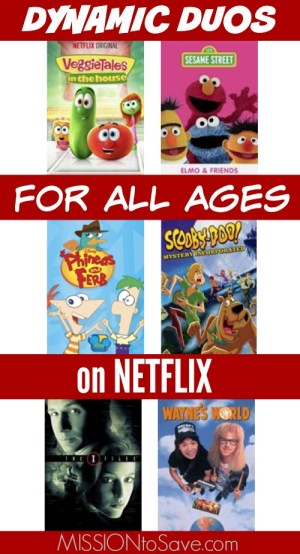 Dynamic Duos for all ages on Netflix
