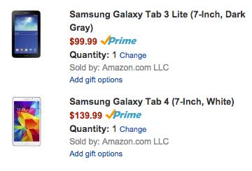 Galaxy Tab Deals