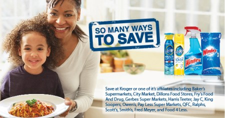 Windex and Pledge Kroger Mega Event