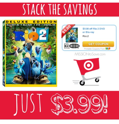 Target Rio 2 Combo Pack Deal