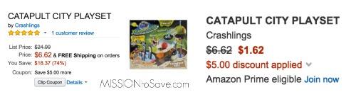 catapult city playset amazon coupon