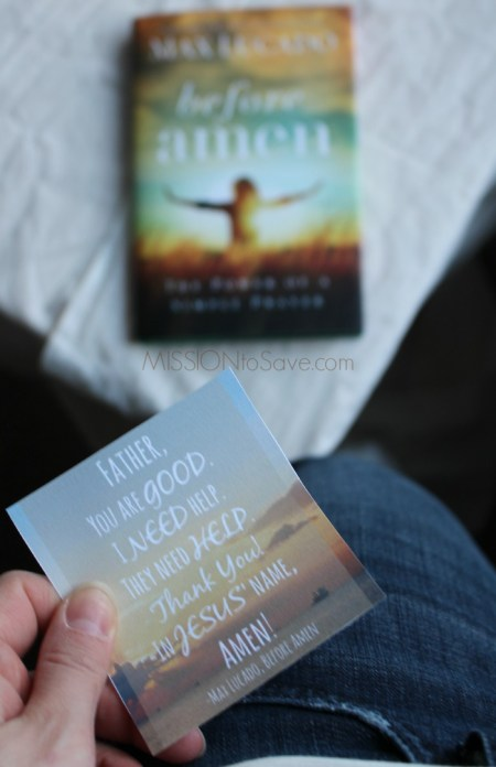 Before Amen Pocket Prayer cards. #FCblogger