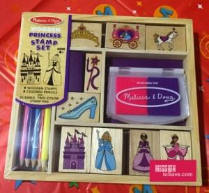 Melissa & Doug Princess Stamp Set