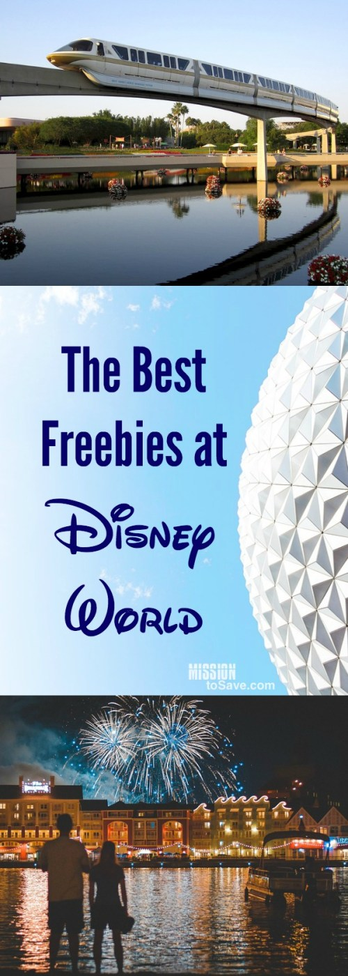 Disney World images- Monorail, Epcot ball, fireworks