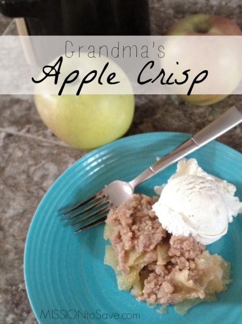 Apple Crisp Dessert Recipe