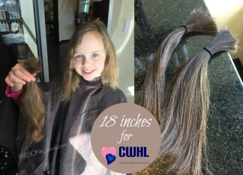 Hair donation for Children with Hair Loss
