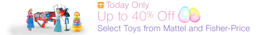 ave on Mattel and Fisher Price Toys