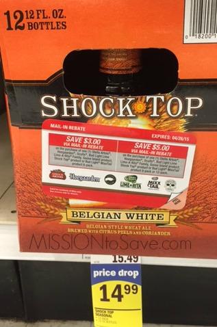 Shock Top Rebate