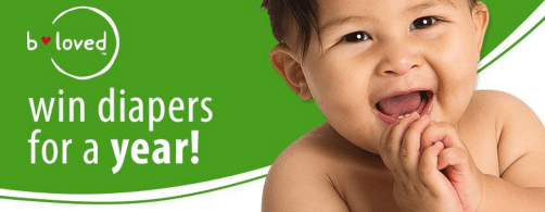 Enter to Win Diapers for a Year from Big Lots and  b loved.
