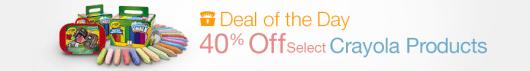 Select Crayola on Sale on Amazon