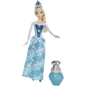 disney frozen elsa doll color changes