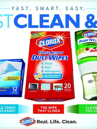 Clorox Cartwheel Offers at Target #RealLifeClean #ad