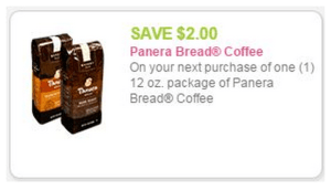 Panera Coffee Coupon