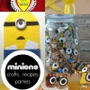 See this fun roundup of Minions posts. You will find recipes, party ideas, DIY projects. Valentines and more! Be-Do!