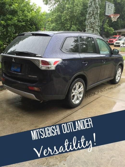 Mitsubishi Outlander Versatility! #DriveMitsubishi