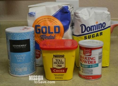 homemade brownies mix ingredients