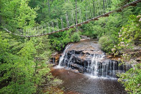 Carver Falls at ZipQuest