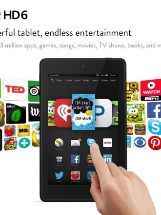 Kindle Fire HD6 on sale!