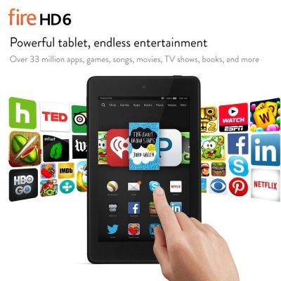 Kindle Fire HD6 on sale!