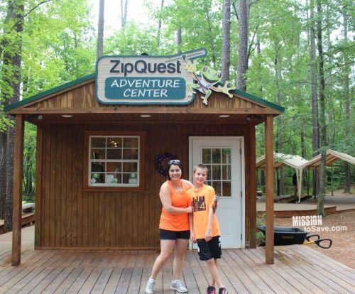 ZipQuest Fun in Fayetteville