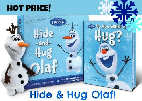 RUN on over to snag Hide and Hug Olaf doe just $5.99 shipped!  Get this deal before it melts away! #DisneySide