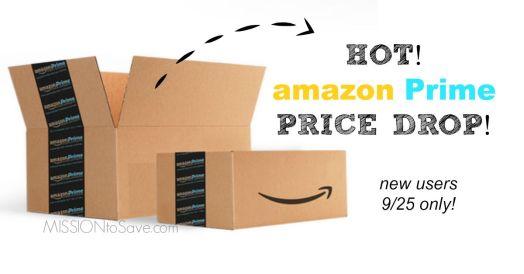 amazon prime price drop