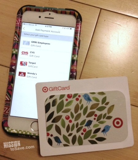 CurrentC App Gift Cards