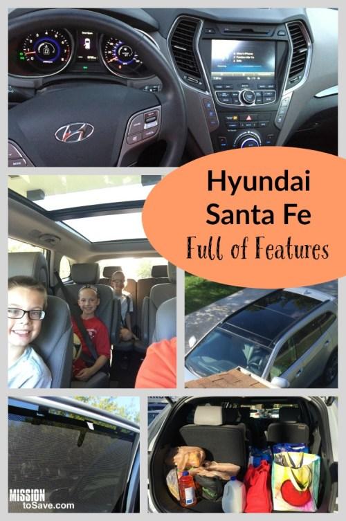 Hyundai Santa Fe Full of Features