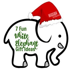 Fun White Elephant Gift Ideas