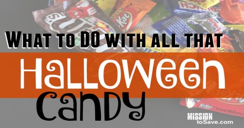 How to Use Leftover Halloween Candy