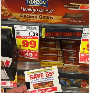 free ronzoni at kroger