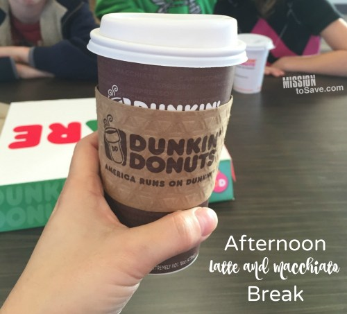 Dunkin' Donut Afternoon Break