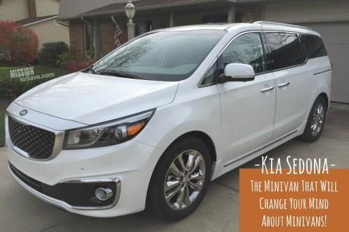 -Kia Sedona- Minivan that will change your mind