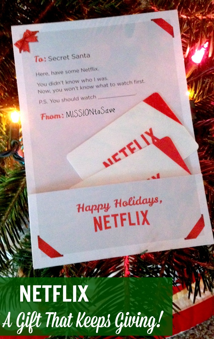Give Netflix! The Gift That Keeps Giving (+ a Giveaway from ME ...