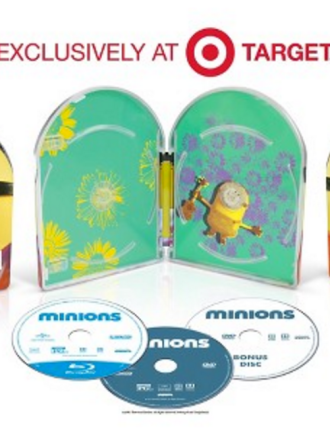 Minions Blu-Ray/DVD Target Gift Card Offer