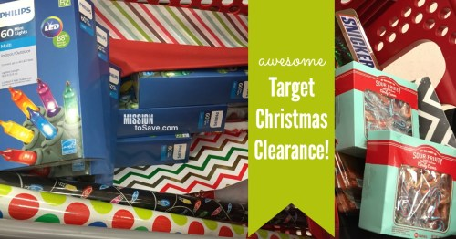 Target Christmas Clearance!