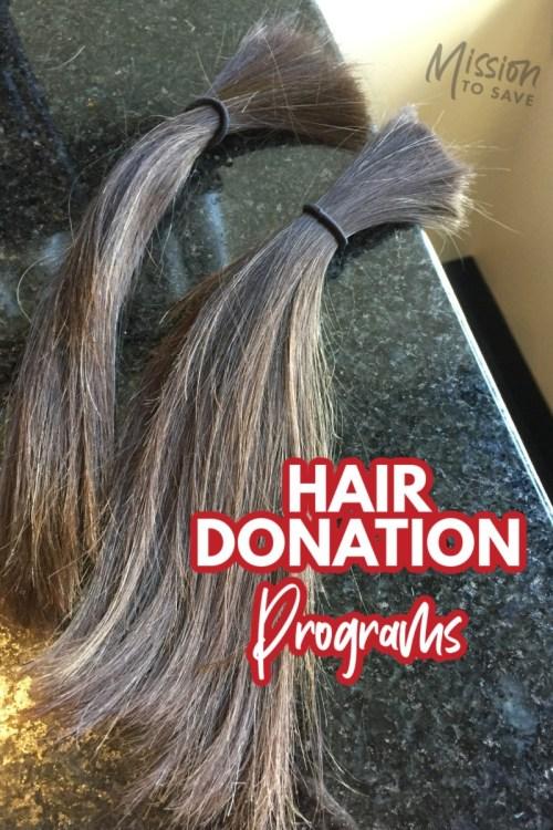 cut hair for hair donations