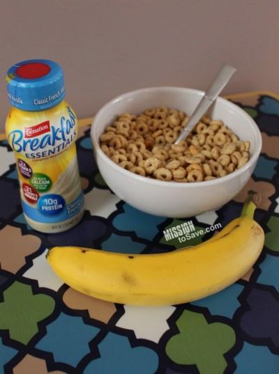 Carnation Breakfast Essentials® Ready-to-Drink Bottles for breakfast