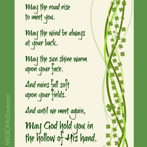 Irish Blessing Prayer