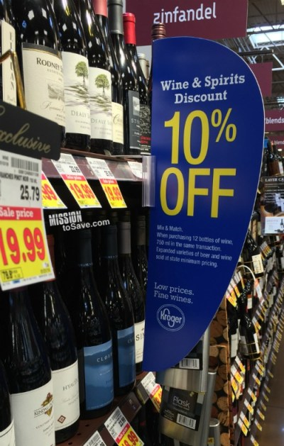 Save on Wine at Kroger