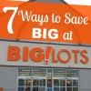 7 Ways to Save at Big Lots