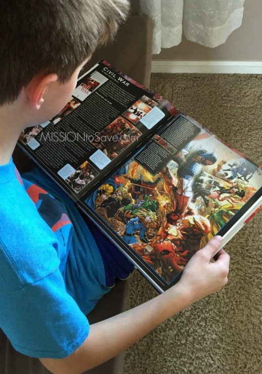 Get the Marvel Encyclopedia for your comic book superhero fan.