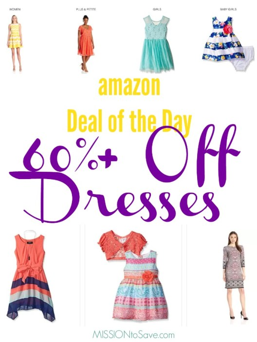 big savings on dresses