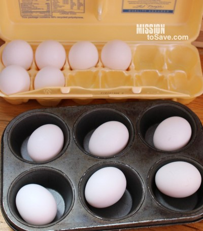 Learn how to make hard boiled eggs in the oven. Not only is this process an easy way to cook hard boiled eggs, it also results in a perfect hard boiled egg.